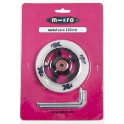 Kolečko Micro MX 100 mm černo-bílé