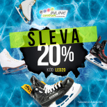 Discount of 20% on all ice skates