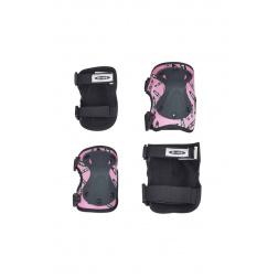 V2 Pink chrániče kolen a loktů M