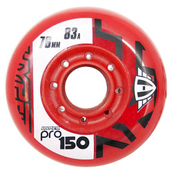 Pro 150 76mm 83A red 4ks