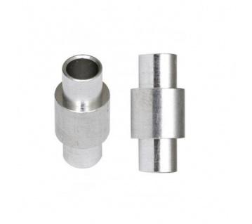 Aluminium Standard Bearing spacers 6mm 8ks