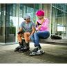 růžová helma K2 na kolečkové brusle