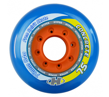 Concrete SL 76mm 84A Trans blue 4ks