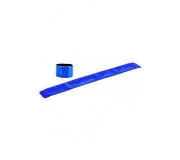 Reflexní páska bez potisku - modrá