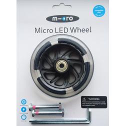 Svítící LED - kolečka 120 mm pro Maxi - 2ks