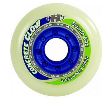 Concrete 80/84A glow Lightning wheels 4ks