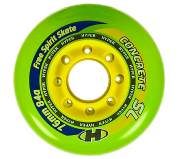 Concrete SL 76mm 84A Trans green 4ks