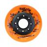 kolečka na inline brusle oranžová
