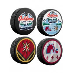 Fanouškovský puk NHL Lake Tahoe (4ks)