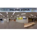Inline Centrum v Galerii Harfa aneb bruslařova zimní sezóna