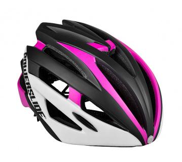 Race Attack růžová helma