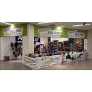 Specializovaná prodejna kolečkových bruslí Inline Centrum v Galerii Harfa