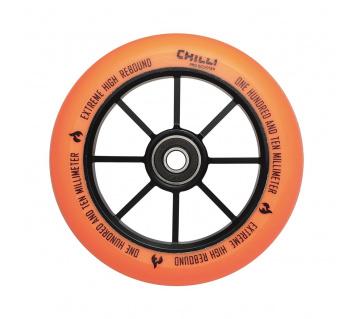 Base 110mm oranžové kolečko 1ks
