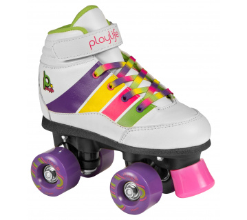 Playlife Quad Groove White
