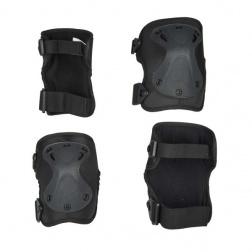 Black chrániče kolen a loktů M