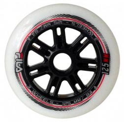 Wheels Set White 125mm 84A 6ks