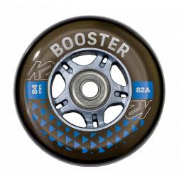 Booster 84mm 82A 8ks + ložiska ILQ 7 + alu spacery 6mm