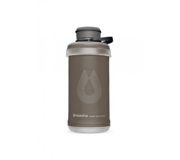 Stash Bottle 750ml Mammoth Grey - folding bottle