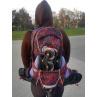 sportovní batoh na kolečkové brusle