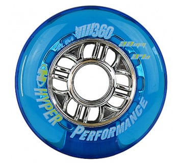 NX 360 90mm 84A Clear blue 4ks