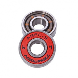 ABEC 9 chrome sada