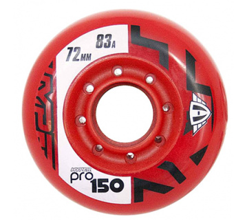 Pro 150 72mm 83A red 4ks
