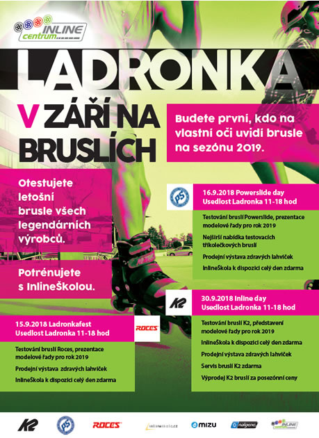 Testování bruslí 2018 - K2 Inline Day 2018, Powerslide Day a  Roces Day