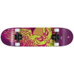 "Skateboard Playlife Skull Nightwing 31x8"""