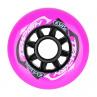 kolečka na inline brusle růžová