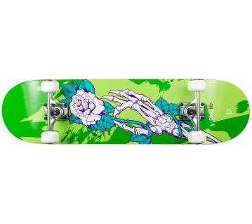 "Skateboard Playlife Skull Homegrown 31x8"""