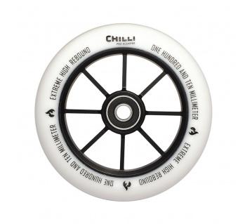 Base 110mm bílé kolečko 1ks