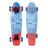 plastový skateboard svítící kola pennyboard
