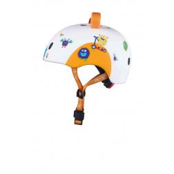 Přilba Micro LED 3D Monsters S (48-53 cm)