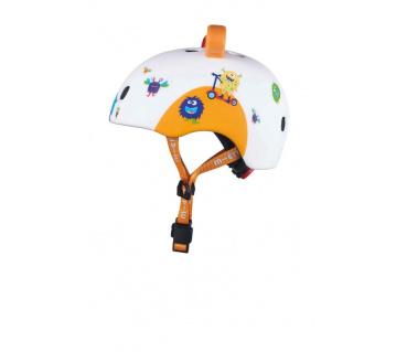 Přilba LED 3D Monsters S (48-53 cm)