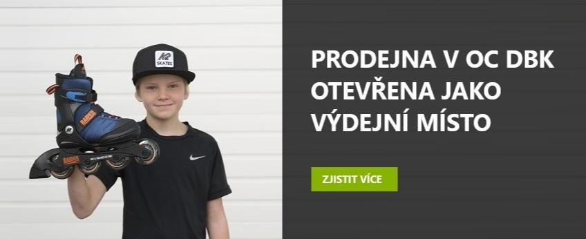 Prodejna kolečkových bruslí v Praze Inline Centrum Budějovická OC DBK