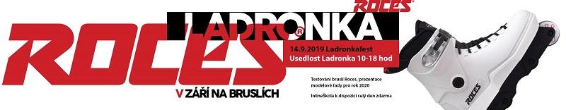 Testování kolečkoých bruslí Roces inline Centrum Praha