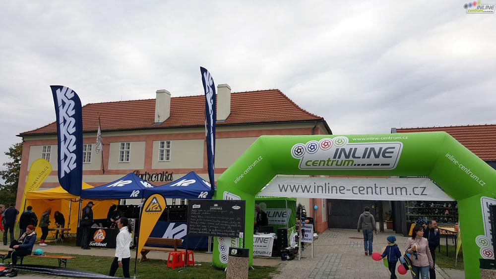 Prodejna kolečkových bruslí K2 a Powerslide Inline Centrum