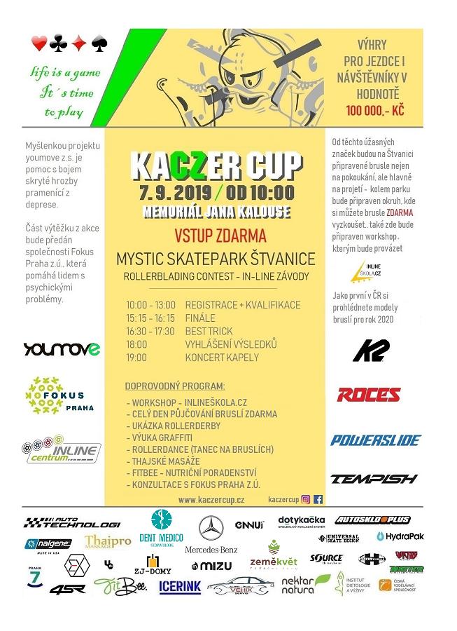 Kaczer Cup 2019 pozvánka