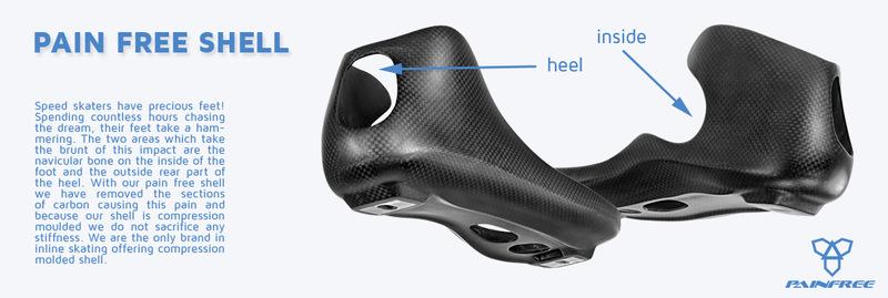 Powerslide Hbyrid boots shell