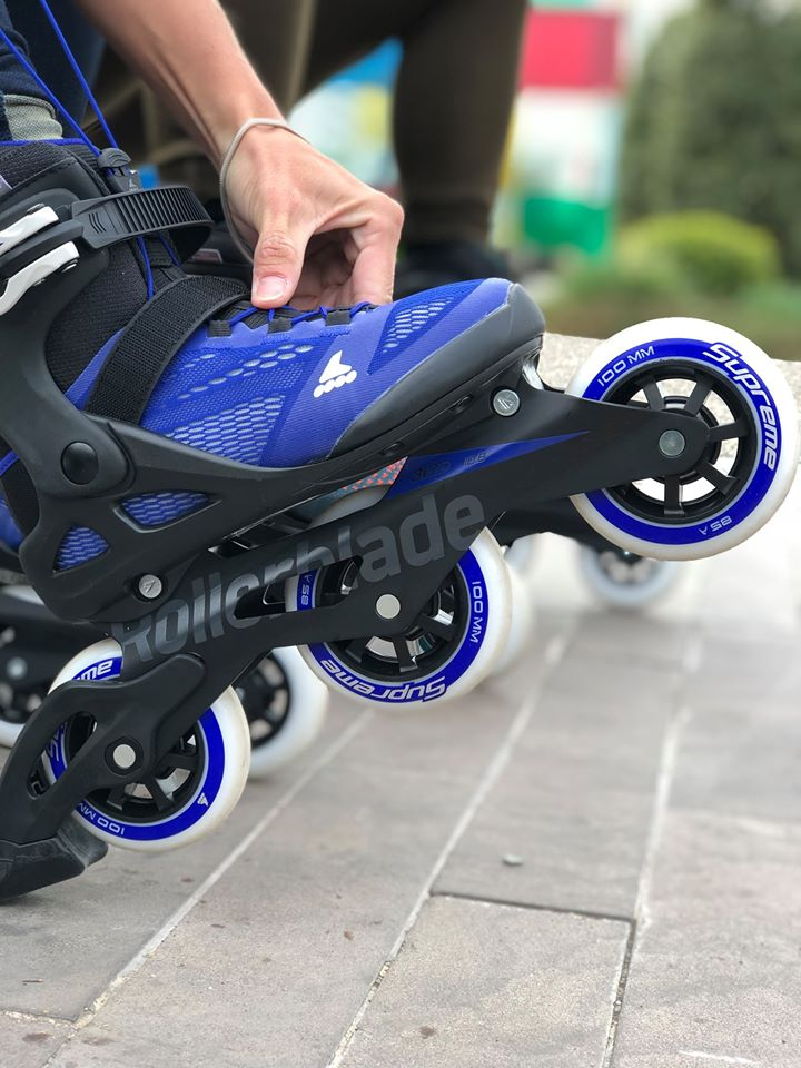tříkolečkové brusle Rollerblade