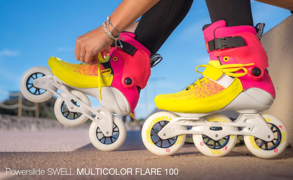 kolečkové brusle Powerslide swell Multicolor